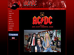 AC/DC Bon Scott memorial band
